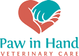 Paw In Hand Veterinary Care Logo